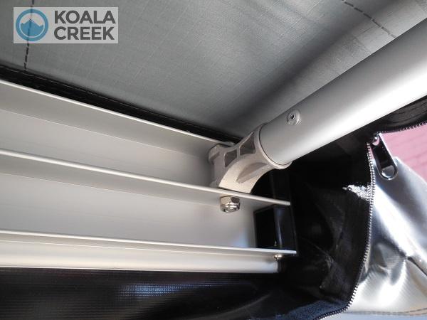 Koala Creek Explorer Awning metal hinges