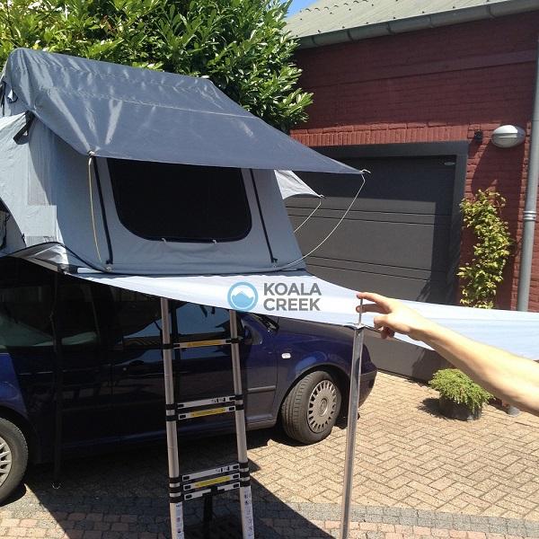 Koala Creek Freedom mounted as awning