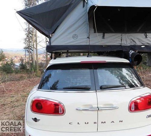 Koala Creek Teide daktent op Mini Clubman